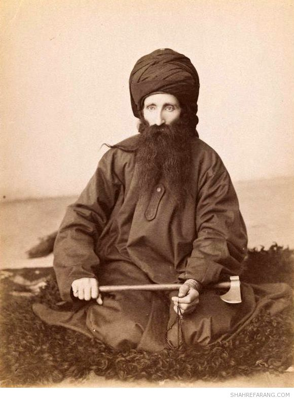 Portrait of a Dervish, late 19th-early 20th century, Brooklyn Museum