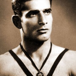 Emam-Ali Habibi Goudarzi, Gold Medal, 1956 Melbourne