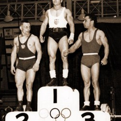 Mahmoud Namjoo, Bronze Medal, 1956 Melbourne