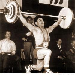 Mahmoud Namjoo, Silver Medal, 1952 Helsinki
