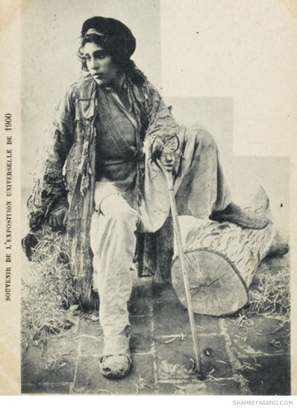 Dervish, postcard from early 1900s