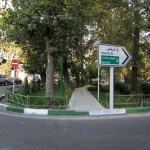 Poormeshkati- Shahrzad Boulevard intersection