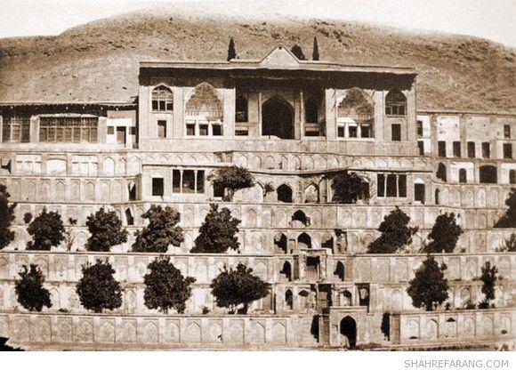 باغ تخت شیراز، نیمه ی قرن نوزدهم
