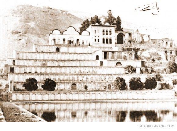باغ تخت شیراز، سال های پایانی قرن نوزدهم