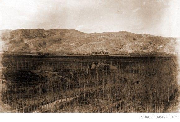 باغ تخت و باباکوهی، شیراز، عکس از ای اچ پی هتز، ۱۸۹۴ میلادی، کتابخانه ی ملی هلند