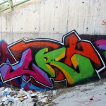 Graffiti on Tehran canal walls (4)