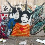 Graffiti on Tehran canal walls (5)