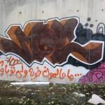 Graffiti on Tehran canal walls (27)