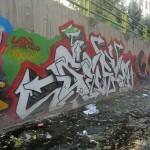 Graffiti on Tehran canal walls (38)