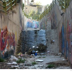 Graffiti on Tehran canal walls (43)