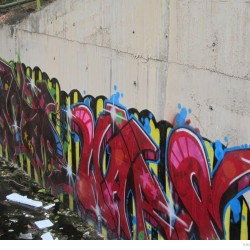 Graffiti on Tehran canal walls (44)