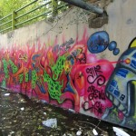 Graffiti on Tehran canal walls (46)