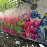 Graffiti on Tehran canal walls (46)