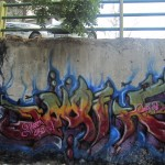 Graffiti on Tehran canal walls (47)