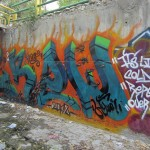 Graffiti on Tehran canal walls (52)