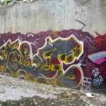 Graffiti on Tehran canal walls (54)