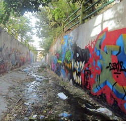 Graffiti on Tehran canal walls (57)