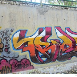 Graffiti on Tehran canal walls (63)