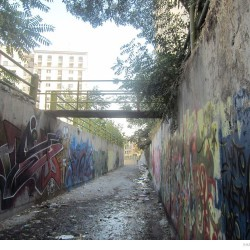 Graffiti on Tehran canal walls (64)