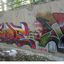 Graffiti on Tehran canal walls (67)