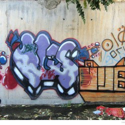 Graffiti on Tehran canal walls (73)