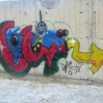 Graffiti on Tehran canal walls (78)