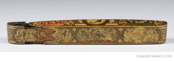 Pen Case with Scenes from the Haft Paykar