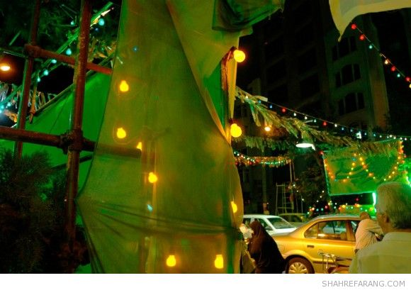 Outdoor Lightings in Iran