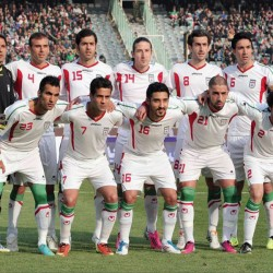 The national football team of Iran