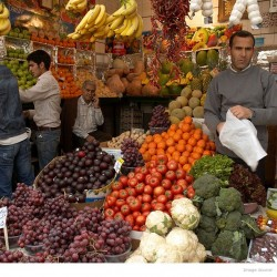 Fruit and Vegetable shop, Tajrish-Tehran - فروشگاه میوه و سبزی، تجریش، تهران