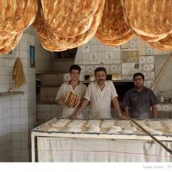 Inside Barbari Bakery, Naazi Abad-Tehran