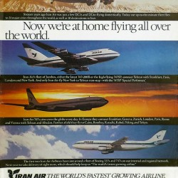 Iran Air - Flying all over the world