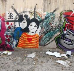 Graffiti on Tehran canal walls (5)