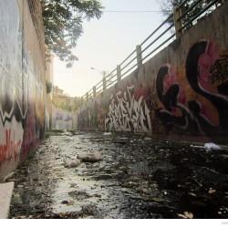 Graffiti on Tehran canal walls (29)
