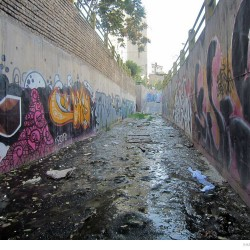 Graffiti on Tehran canal walls (31)