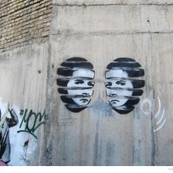 Graffiti on Tehran canal walls (36)