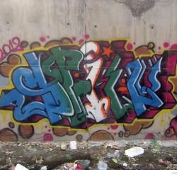 Graffiti on Tehran canal walls (62)