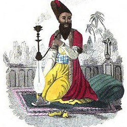 Persian Smoking