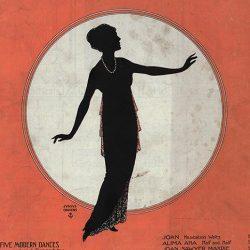 Persian Garden Tango (1914) by Joan Sawyer