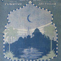 ترانه «ماه ایرانی» (۱۹۲۳) از جان فلمینگ